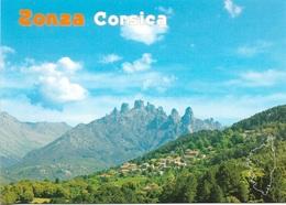 CARTES GÉOGRAPHIQUES - 20 - LA CORSE - ZONZA CORSICA - CPM - ÉCRITE - - Cartes Géographiques