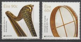 Irlande Europa 2014 N° 2091/ 2092 ** Instruments De Musique - Europa-CEPT