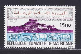 MAURITANIE N°  354 ** MNH Neuf Sans Charnière, TB (D8086) UNESCO, Sauvegarde Du Temple Mohendjo-aro - 1976 - Mauritania (1960-...)