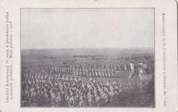 Parade De L'Armée Polonaise En 1918 Pour L'Anniversaire De La Constitution Polonaise Du 3 Mai - Guerra 1914-18
