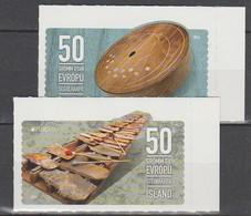 Islande Europa 2014 N° 1347/ 1348 ** Instruments De Musique - Europa-CEPT