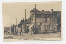 LIFFOL-LE-GRAND 88 LA GRANDE RUE ET LE CARON - Liffol Le Grand