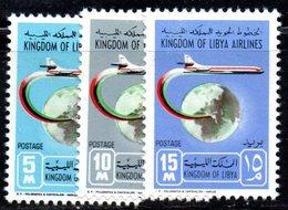 APR1416 - LIBIA LYBIA 1966 , Serie Yvert  N. 282/284  ***  MNH  (2380A) - Libia