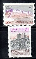 APR1417 - LIBIA LYBIA 1967 , Serie Yvert  N. 296/297  ***  MNH  (2380A) - Libia