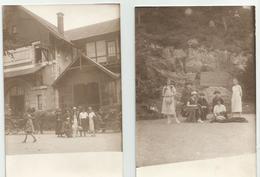 Photo Carte 1920 Pic Du Jer  Départ Arrivée Funiculaire Attelages Pin Up - Lourdes
