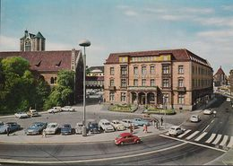 D-38100 Braunschweig - Hotel Deutsches Haus - Cars - US Car - VW Käfer - Opel Caravan - Ford Taunus - Citroën - Braunschweig