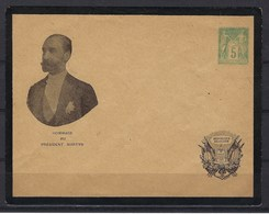 France, Entier Postal, Enveloppe Avec N° 75 Repiquage, Hommage Au Président Martyr - Postal Stamped Stationery