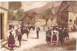 En Alsace Vive La France  Illustrateur MUG - Patriotiques