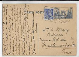1940 - SEINE INFERIEURE - CARTE ENTIER De LA BOUILLE Avec DAGUIN => LILLE - Postmark Collection (Covers)