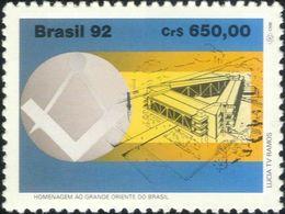 GRANDE  ORIENTE DO BRASIL MINT** MNH MASSONERIA MASONIC FREEMASONRY Franc-maçonnerie - Massoneria