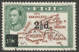 Fiji. 1941 Surcharge. 2½d On 2d Used SG 267 - Fidji (...-1970)