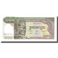 Billet, Cambodge, 100 Riels, KM:8b, NEUF - Cambodia