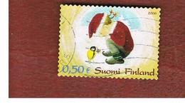 FINLANDIA (FINLAND) -  MI 1825 -  2006  CHRISTMAS  -       USED ° - Finlandia