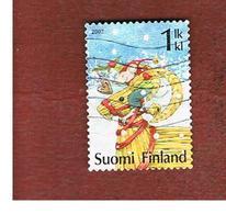 FINLANDIA (FINLAND) -  MI 1869 -  2007  CHRISTMAS     -       USED ° - Finlandia