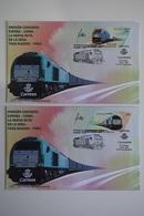 SPAIN / ESPAGNE (2019) - Joint Issue CHINA - Nueva Ruta De La Seda Tren Madrid-Yiwu / Railway - First Day Covers SIGNED! - 1931-Hoy: 2ª República - ... Juan Carlos I