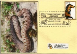 USA. Glen Rock Amphibian And Reptile Collection (New-Jersey), Special Postmark , Year 2003 - Schlangen