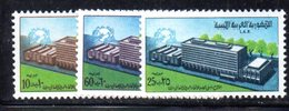 APR1422 - LIBIA LYBIA 1970 , Serie Yvert  N. 359/361  ***  MNH  (2380A)  Upu - Libia