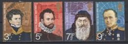 Grande-Bretagne. 1972. Y & T N° 653/56 *, MH. Cote Y & T 2012 : 3,50 € - Neufs
