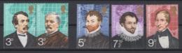 Grande-Bretagne. 1973. Y & T N° 679a/83 *, MH. Cote Y & T 2012 : 4 € - Neufs