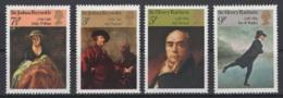 Grande-Bretagne. 1973. Y & T N° 687/90 *, MH. Cote Y & T 2012 : 3 € - Neufs