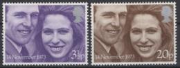 Grande-Bretagne. 1973. Y & T N° 700/01 *, MH. Cote Y & T 2012 : 2 € - Neufs