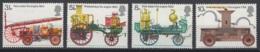 Grande-Bretagne. 1974. Y & T N° 721/24 *, MH. Cote Y & T 2012 : 3,25 € - Neufs