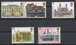 Grande-Bretagne. 1975. Y & T N° 751a/55  *, MH. Cote Y & T 2012 : 3,50 € - Neufs