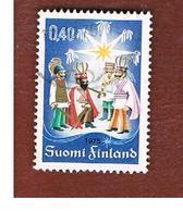 FINLANDIA (FINLAND) -  SG 889  -    1975  CHRISTMAS -   USED ° - Finlandia