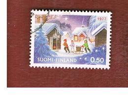 FINLANDIA (FINLAND) -  SG 927 -    1977  CHRISTMAS      -   USED ° - Finlandia