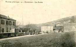 ROUMEZOUX (Vernoux Pittoresque)  =  Les  écoles    804 - France