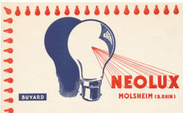 BU 1714 /  BUVARD - NEOLUX  MOLSHEIM  B. RHIN - Electricidad & Gas