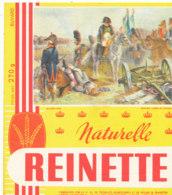 BU 1737 /  BUVARD -   REINETTE -   DERNIER CARRE DE WATERLOO - Biscottes