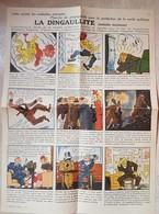 TRACT ILLUSTRE  EN COULEURS DE PROPAGANDE ANTI-RESISTANCE,D'ESPRIT - 1939-45