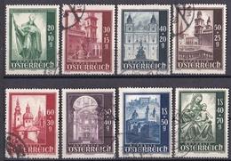 Jv_ Österreich - Mi.Nr. 885 - 892 - Gestempelt Used - 1945-60 Gebraucht