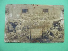 POLAND Army 1925 Artillery Troops Soldiers, Army. Real Photo Postcard In ZAMOSCIU, Zamość - Poland