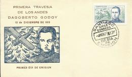 CHILE, SOBRE PRIMER DIA  DAGOBERTO GODOY - Chile