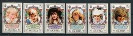 Anguilla ** N° 446 à 451 - 21e Ann. De La Princesse De  Galles - - Anguilla (1968-...)