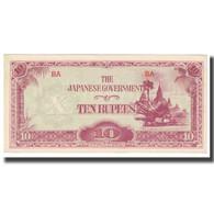Billet, Birmanie, 10 Rupees, KM:16a, NEUF - Myanmar