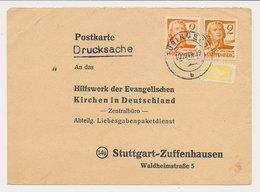 Card Wurttemberg-Hohenzollern / Germany 1949 - Wohnungsbau-abgabe - Zona Francese