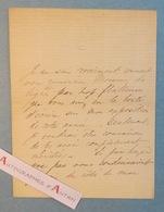 L.A.S William WYLD Peintre Anglais Né à Londres London - English Painter - Lettre Autographe Autograph Letter - Autographes