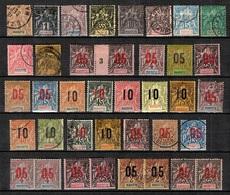 Mayotte Belle Collection 1892/1912. Bonnes Valeurs. B/TB. A Saisir! - Mayotte (1892-2011)