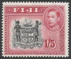 Fiji. 1938-55 KGVI. 1/5 MH SG 263 - Fidji (...-1970)
