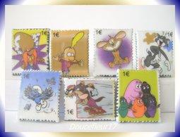 BD Timbrées ... Lot De 7 Fèves ... Ref AFF : 51-2007 ...(pan 002) - Strips