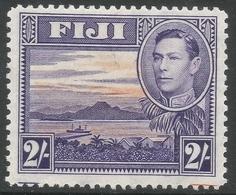 Fiji. 1938-55 KGVI. 2/- MH SG 264 - Fidji (...-1970)