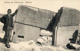 Tiahuanaco, Arqueologo, George Courty, Arno Hermanos - Bolivia
