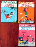 Gaston Lagaffe Lot Tomes 0 10 Et 13 - Books, Magazines, Comics