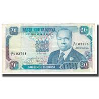 Billet, Kenya, 20 Shillings, 1989, 1989-07-01, KM:31a, TB - Kenya