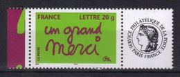 France 2005 Yvert 3761A Avec Vignette Neuf** MNH (173) - Ungebraucht