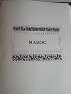 Lot N° 616 MAROC Collection Sur Page D'album Neufs * Certains Collés .DERNIERE VENTE, Fermé Du 4 Juill Au 19 Aout - Collections (with Albums)