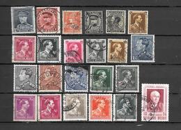 BELGIO BELGIQUE  1931-1956  23 V. -  Lot Lotto - Blocchi 1924 – 1960